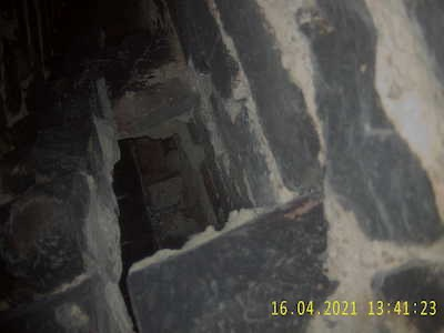 Hole in Flue